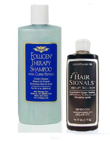 powstrzymywanie wypadania włosów za pomocą jonów miedzi