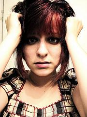 Wypadanie włosów może być spowodowane przez stresującą sytuację.