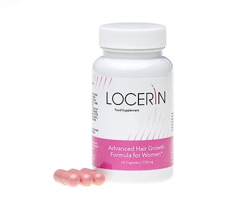 Locerin - tabletki na porost włosó