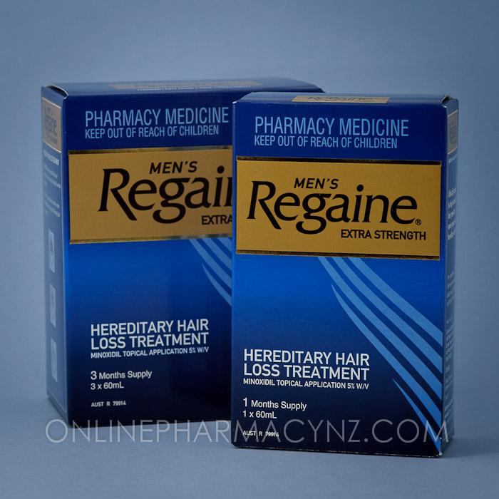 Regaine zawiera minoxidil