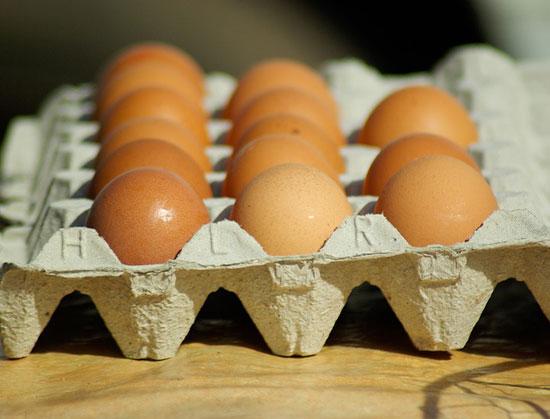 jajka na porost włosów