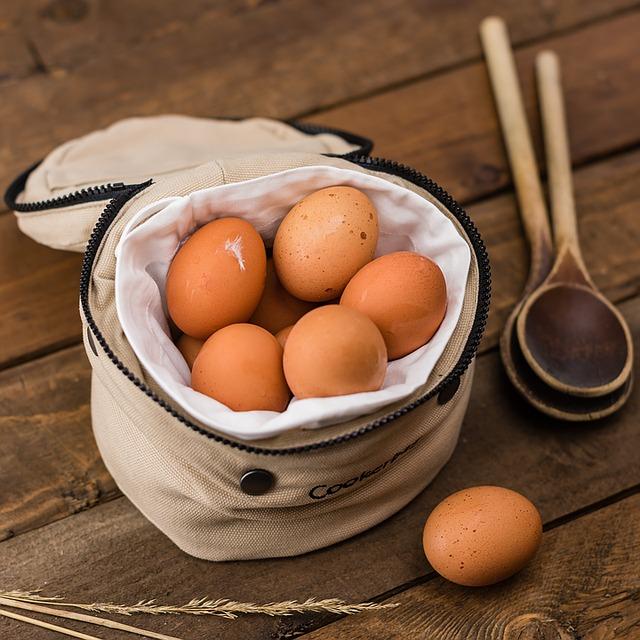 Jajka - sposób na łysienie androgenowe
