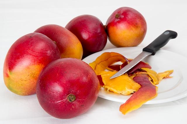 Owoc mango na wypadanie włosów