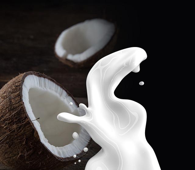 Mleko kokosowe na wypadanie włosów