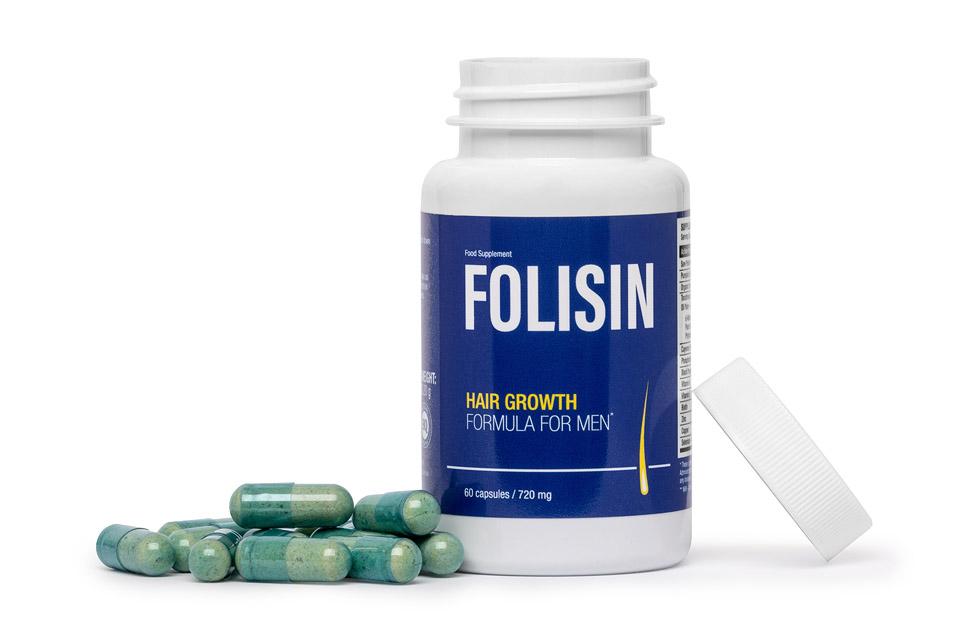 Folisin - Tabletki na wypadanie włosów dla mężczyn